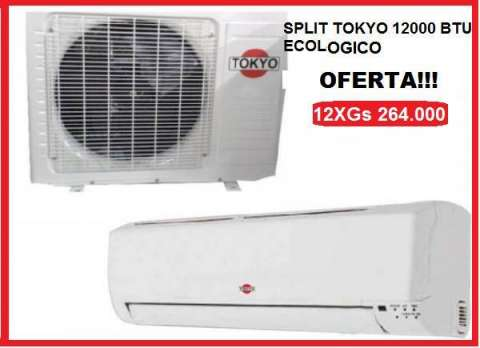 Split Tokyo 12.000 btu
